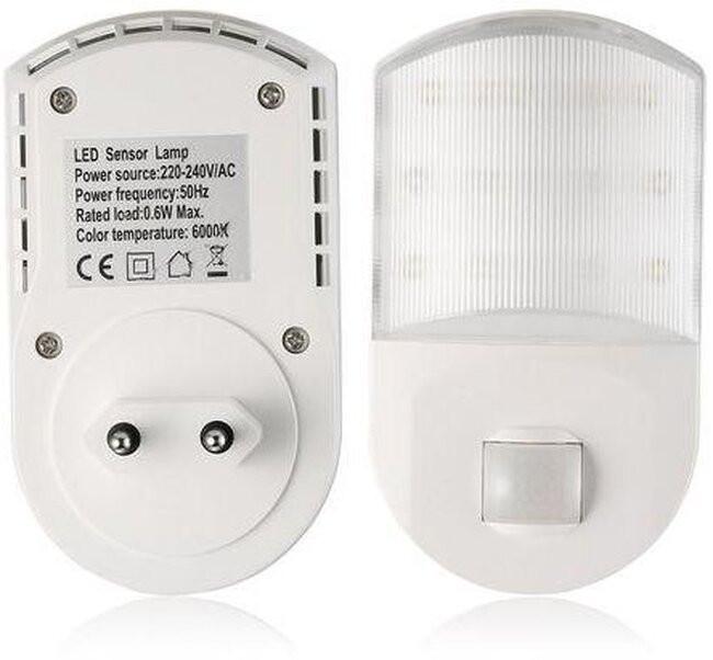 Φωτιστικό Νυκτός Πρίζας LED με Ανιχνευτή Κίνησης  77861 - 7