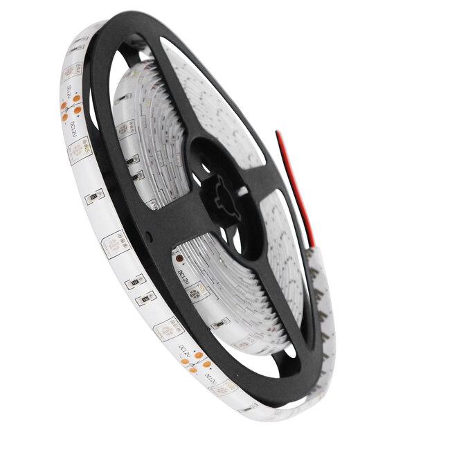 GloboStar® 70116 Ταινία LED SMD 5050 5m 7.2W/m 30LED/m 727 lm/m 120° DC 12V Αδιάβροχη IP65 Μπλε - 5 Χρόνια Εγγύηση - 2