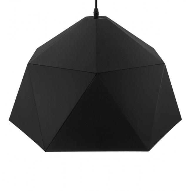 Μοντέρνο Κρεμαστό Φωτιστικό Οροφής Μονόφωτο Μαύρο Χρυσό Μεταλλικό Καμπάνα Φ46  SYLRA 01195 - 4