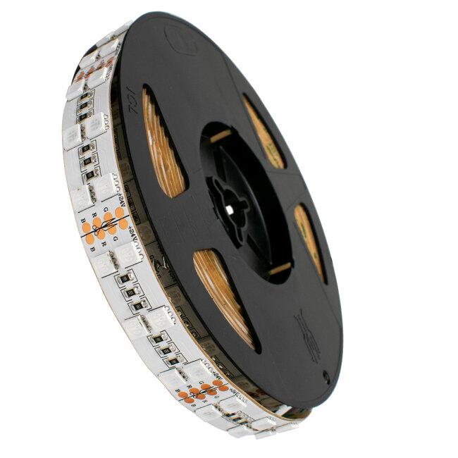 GloboStar® 70279 Διπλή Ταινία LED SMD 5050 5m 28.8W/m 120LED/m 2908 lm/m 120° DC 24V IP20 RGB - 5 Χρόνια Εγγύηση - 2