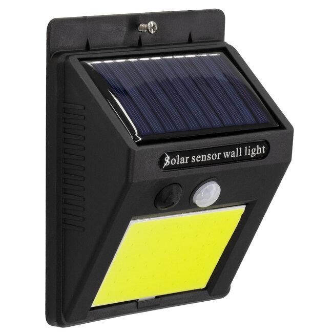 71495 Αυτόνομο Ηλιακό Φωτιστικό LED COB 10W 1000lm με Ενσωματωμένη Μπαταρία 1200mAh - Φωτοβολταϊκό Πάνελ με Αισθητήρα Ημέρας-Νύχτας και PIR Αισθητήρα Κίνησης IP65 Ψυχρό Λευκό 6000K - 3