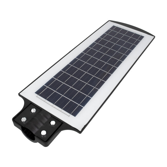 GloboStar® 71553 Αυτόνομο Ηλιακό Φωτιστικό Δρόμου Street Light All In One LED SMD 200W 16000lm με Ενσωματωμένη Μπαταρία Li-ion 12000mAh - Φωτοβολταϊκό Πάνελ με Αισθητήρα Ημέρας-Νύχτας PIR Αισθητήρα Κίνησης και Ασύρματο Χειριστήριο RF 2.4Ghz Αδιάβροχο - 8