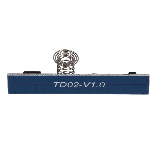 GloboStar® 70699 Mini Αισθητήρας Modular για Προφίλ Αλουμινίου με Διακόπτη Αφής Touch Sensor DC 5-24V Max 192W - 4