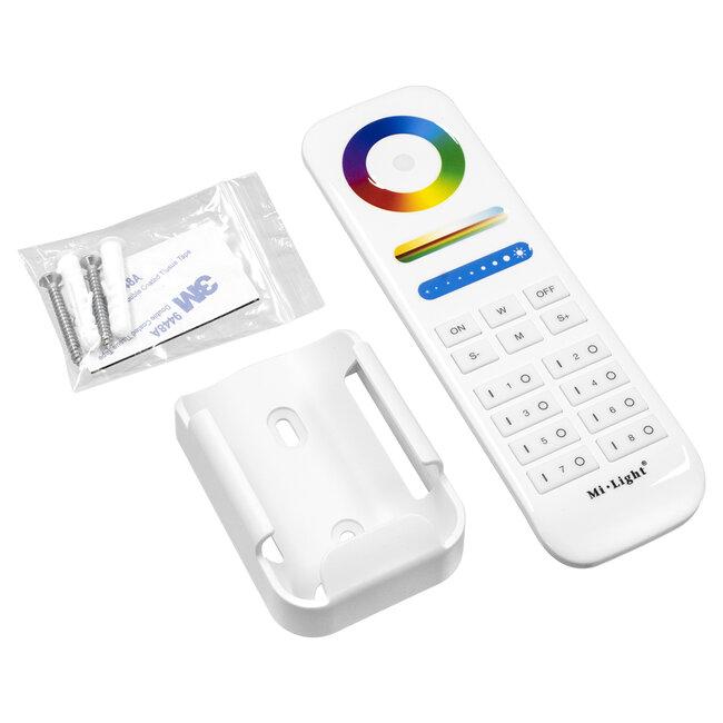 GloboStar® 73426 Ασύρματο Χειριστήριο Αφής έως 8 Group Wireless RF 2.4Ghz LED RGBW+WW Smart Touch Panel 8-Zone Mi-Light FUT089 433MHz RF 2.4G - 7