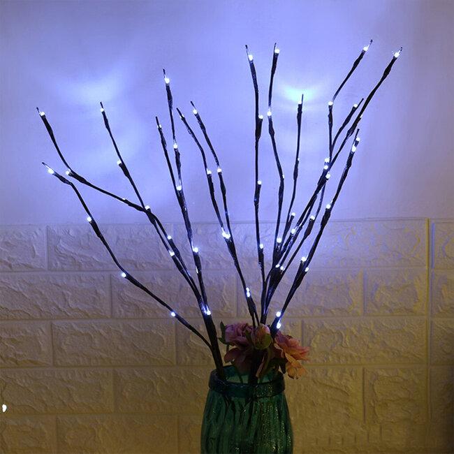 GloboStar® 79800 Διακοσμητικό Φωτιζόμενο Εύκαμπτο Κλαδί με 20 LED 3W 300 lm Μπαταρίας Ψυχρό Λευκό 6000k Φ62.5 x Υ70cm - 9