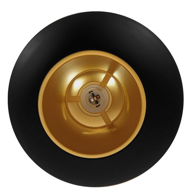 Μοντέρνο Κρεμαστό Φωτιστικό Οροφής Μονόφωτο Μαύρο Μεταλλικό Φ35  SEVILLE BLACK 01269 - 7