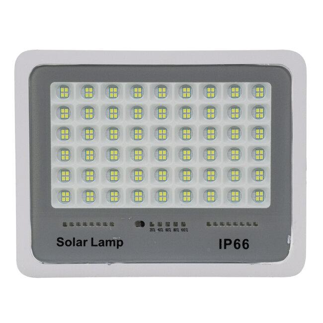 71560 Αυτόνομος Ηλιακός Προβολέας LED SMD 150W 18000lm με Ενσωματωμένη Μπαταρία 15000mAh - Φωτοβολταϊκό Πάνελ με Αισθητήρα Ημέρας-Νύχτας και Ασύρματο Χειριστήριο RF 2.4Ghz Αδιάβροχος IP66 Ψυχρό Λευκό 6000K - 5