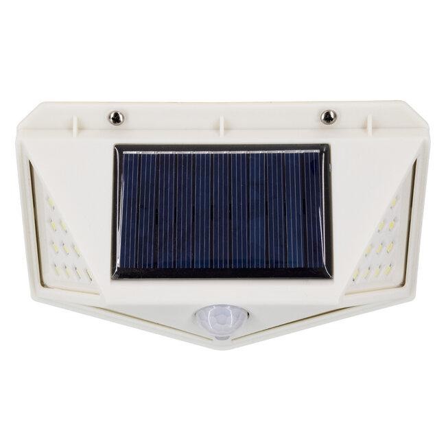 71498 Αυτόνομο Ηλιακό Φωτιστικό LED SMD 10W 1000lm με Ενσωματωμένη Μπαταρία 1200mAh - Φωτοβολταϊκό Πάνελ με Αισθητήρα Ημέρας-Νύχτας και PIR Αισθητήρα Κίνησης IP65 Ψυχρό Λευκό 6000K - 9