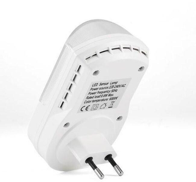 Φωτιστικό Νυκτός Πρίζας LED με Ανιχνευτή Κίνησης  77861 - 2