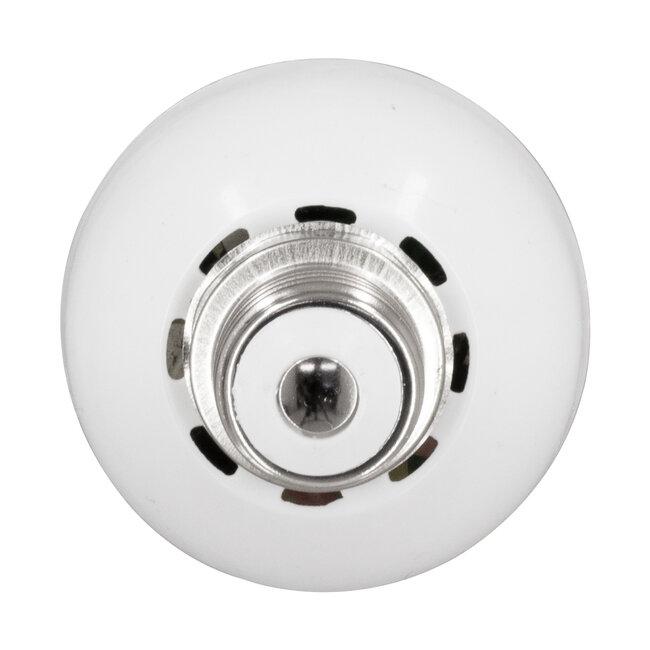 76074 Λάμπα E14 C37 Διακοσμητικό Κεράκι LED 5W 250lm 320° AC 85-265V με 2 Λειτουργίες Εφέ Φλόγας Θερμό Λευκό 1800K - 3