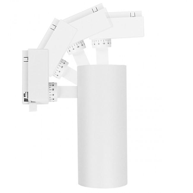 Μονοφασικό Bridgelux COB LED Λευκό Φωτιστικό Σποτ Ράγας 30W 230V 3900lm 30° Ψυχρό Λευκό 6000k GloboStar 93110 - 7