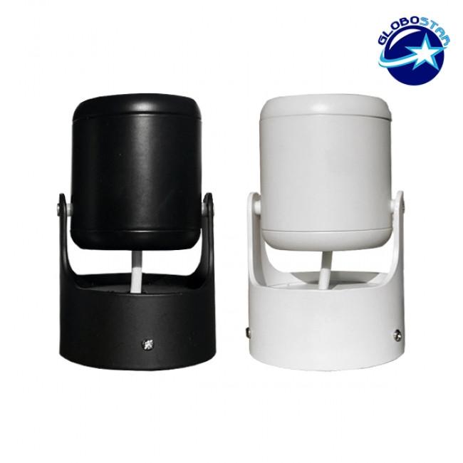 LED Φωτιστικό Σποτ Οροφής με Σπαστή Βάση White Body 10W 230V 1500lm 24° Ψυχρό Λευκό 6000k GloboStar 93008 - 7