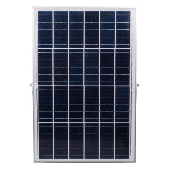 71562 Αυτόνομος Ηλιακός Προβολέας LED SMD 300W 36000lm με Ενσωματωμένη Μπαταρία 25500mAh - Φωτοβολταϊκό Πάνελ με Αισθητήρα Ημέρας-Νύχτας και Ασύρματο Χειριστήριο RF 2.4Ghz Αδιάβροχος IP66 Ψυχρό Λευκό 6000K - 8