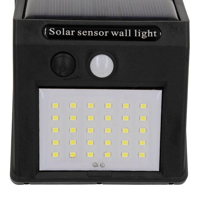 71500 Αυτόνομο Ηλιακό Φωτιστικό LED SMD 6W 600lm με Ενσωματωμένη Μπαταρία 1200mAh - Φωτοβολταϊκό Πάνελ με Αισθητήρα Ημέρας-Νύχτας και PIR Αισθητήρα Κίνησης IP65 Ψυχρό Λευκό 6000K - 7