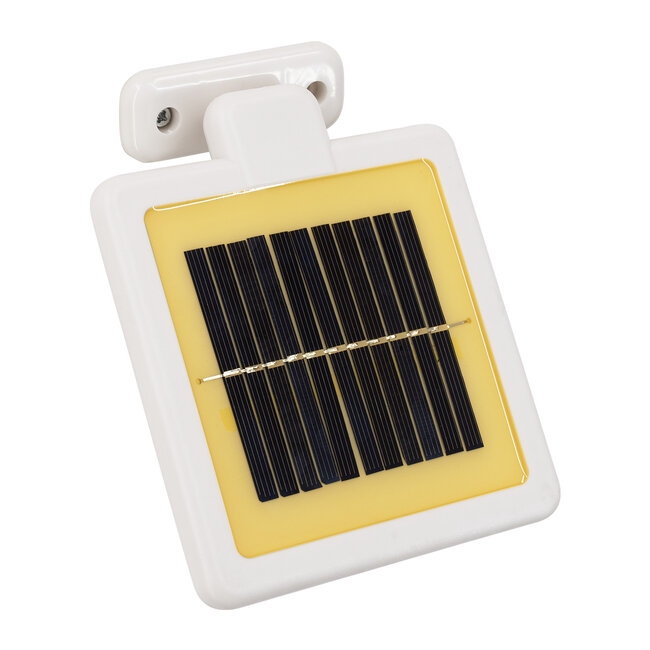 GloboStar® 71508 Αυτόνομο Ηλιακό Φωτιστικό LED SMD 10W 150lm με Ενσωματωμένη Μπαταρία 1200mAh - Φωτοβολταϊκό Πάνελ με Αισθητήρα Ημέρας-Νύχτας και PIR Αισθητήρα Κίνησης Αδιάβροχο IP54 Ψυχρό Λευκό 6000K - 13