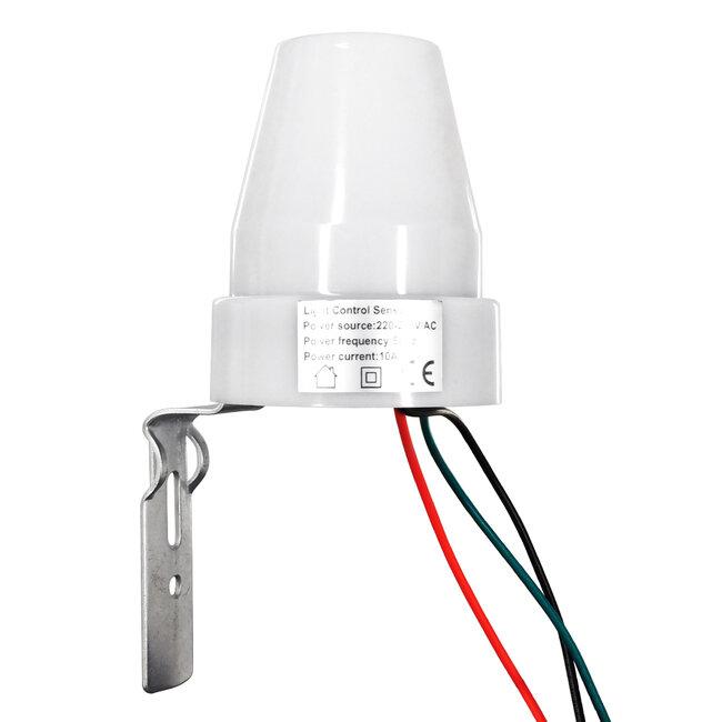 GloboStar® 75703 Αισθητήρας Φωτοκύτταρο Ημέρας-Νύχτας Day-Night Sensor 360° AC 230V Max 2200W - 7
