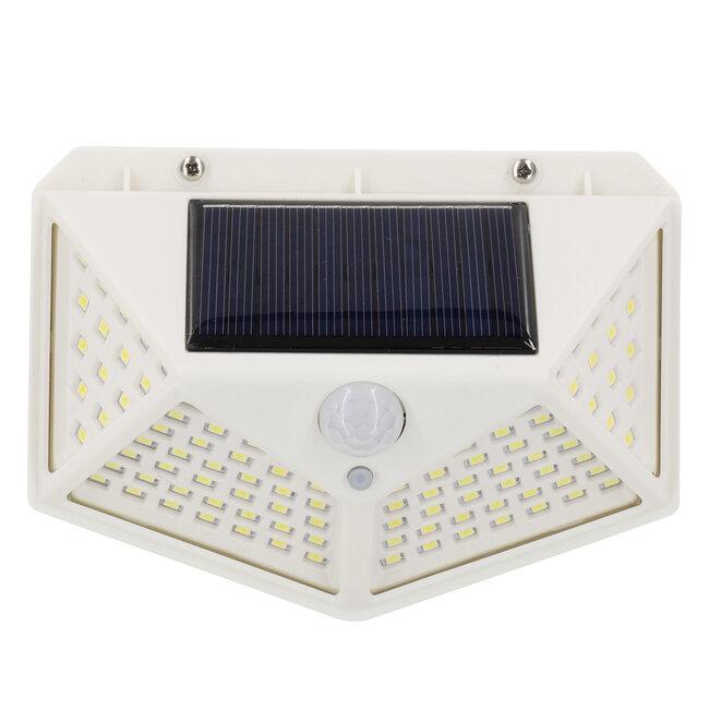 71498 Αυτόνομο Ηλιακό Φωτιστικό LED SMD 10W 1000lm με Ενσωματωμένη Μπαταρία 1200mAh - Φωτοβολταϊκό Πάνελ με Αισθητήρα Ημέρας-Νύχτας και PIR Αισθητήρα Κίνησης IP65 Ψυχρό Λευκό 6000K - 5