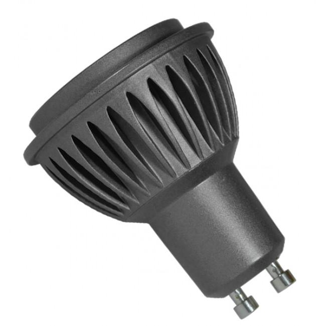 Λάμπα LED Σποτ GU10 7W 230V 910lm 10° Θερμό Λευκό 2700k Dimmable GloboStar 77153 - 2