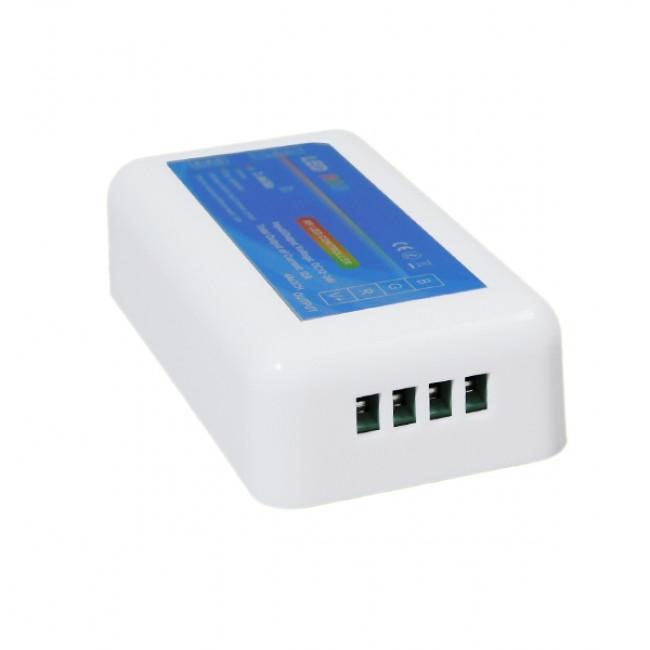 Σετ Ασύρματο RF 2.4G LED Controller Τοίχου Αφής RGB 12-24 Volt 288/576 Watt για Δύο Group GloboStar 04052 - 4