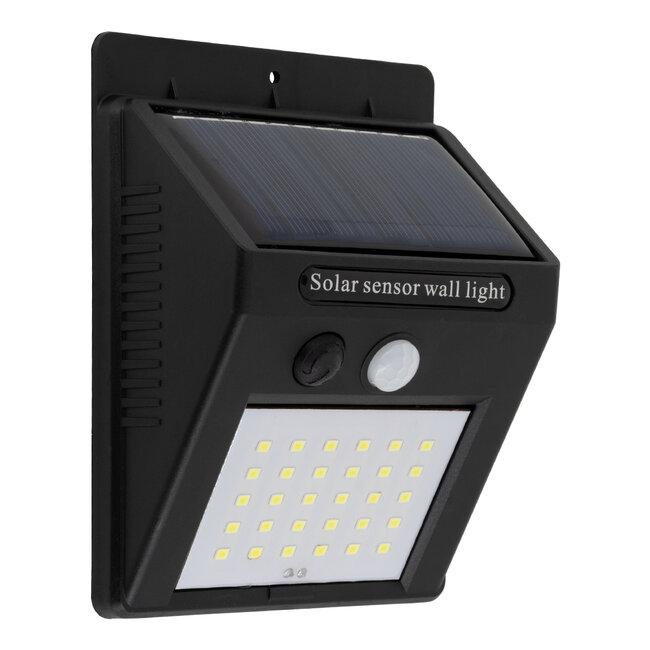 71500 Αυτόνομο Ηλιακό Φωτιστικό LED SMD 6W 600lm με Ενσωματωμένη Μπαταρία 1200mAh - Φωτοβολταϊκό Πάνελ με Αισθητήρα Ημέρας-Νύχτας και PIR Αισθητήρα Κίνησης IP65 Ψυχρό Λευκό 6000K - 2