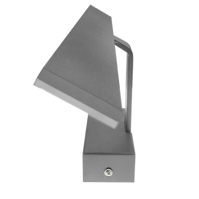 LED Φωτιστικό Τοίχου Αρχιτεκτονικού Φωτισμού 58cm Καθρέπτη / Πίνακα Γκρι IP54 14 Watt SMD Φυσικό Λευκό GloboStar 93340 - 2