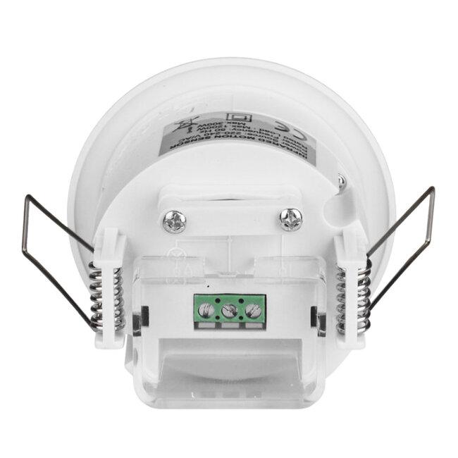 75706 Χωνευτός Αισθητήρας Οροφής με PIR Ανιχνευτή-Αισθητήρα Κίνησης 360° 6m και Αισθητήρα Ημέρας-Νύχτας - Motion Sensor AC 230V Max 300W/1200W - 11