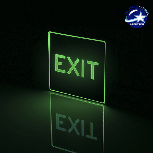Φωτιστικό LED Σήμανσης Αλουμινίου EXIT GloboStar 75505 - 2