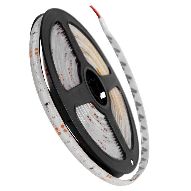 GloboStar® 70105 Ταινία LED SMD 3528 5m 4.8W/m 60LED/m 412 lm/m 120° DC 12V Αδιάβροχη IP65 Πράσινο - 5 Χρόνια Εγγύηση - 2