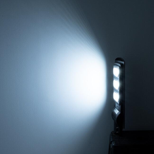 GloboStar® 71552 Αυτόνομο Ηλιακό Φωτιστικό Δρόμου Street Light All In One LED SMD 150W 12000lm με Ενσωματωμένη Μπαταρία Li-ion 9000mAh - Φωτοβολταϊκό Πάνελ με Αισθητήρα Ημέρας-Νύχτας PIR Αισθητήρα Κίνησης και Ασύρματο Χειριστήριο RF 2.4Ghz Αδιάβροχο - 13