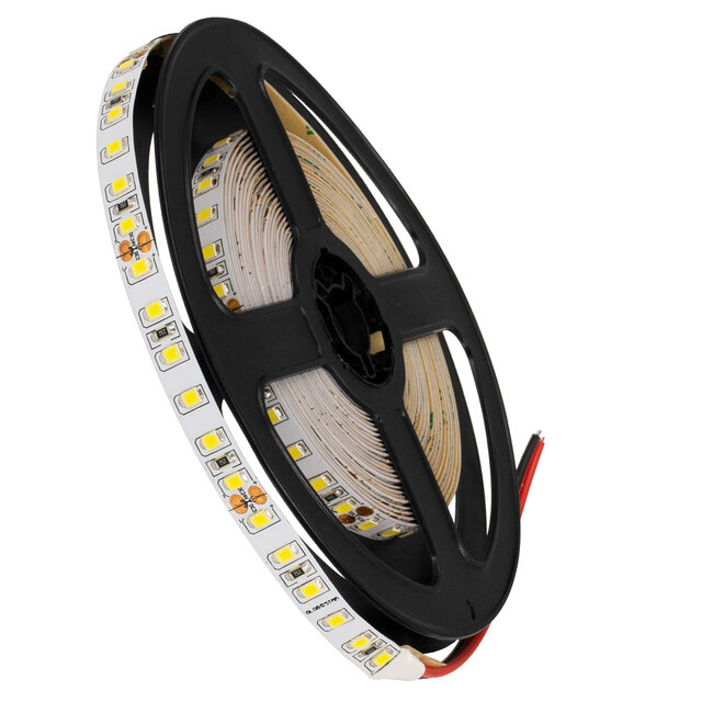 GloboStar® 70231 Ταινία LED SMD 2835 5m 8W/m 120LED/m 1256 lm/m 120° DC 24V IP20 Φυσικό Λευκό 4500K - 5 Χρόνια Εγγύηση - 2