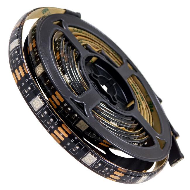 GloboStar 70406 Σετ Ταινία TV Kit LED RGB SMD 5050 2m (4x50CM) 14.4W/2m 60LED/2m 1454 lm/2m 120° USB DC 5V Οπίσθιου Κρυφού Φωτισμού για Τηλεόραση με Ασύρματο Τηλεχειριστήριο Αδιάβροχο IP65 RGB - 3