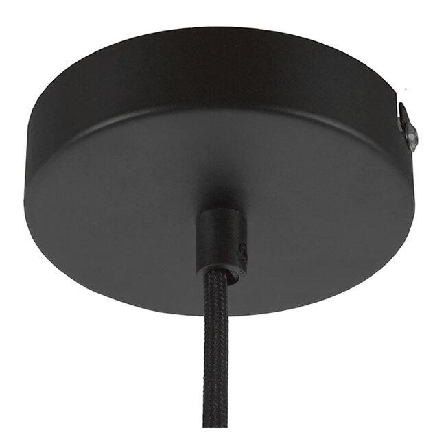 Μοντέρνο Industrial Κρεμαστό Φωτιστικό Οροφής Μονόφωτο Γκρι Τσιμέντο Καμπάνα Φ18  TRIBECA 01320 - 11