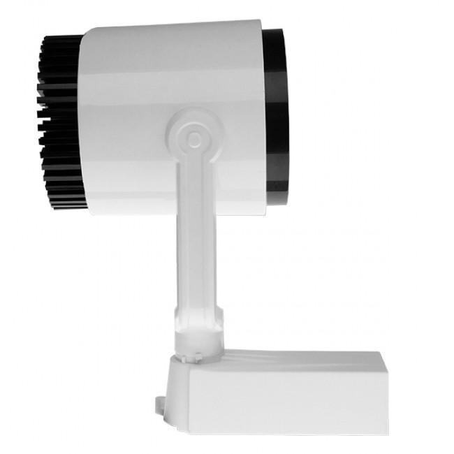 Μονοφασικό Bridgelux COB LED Φωτιστικό Σποτ Ράγας 30W 230V 3300lm 24° Φυσικό Λευκό 4500k GloboStar 93016 - 3