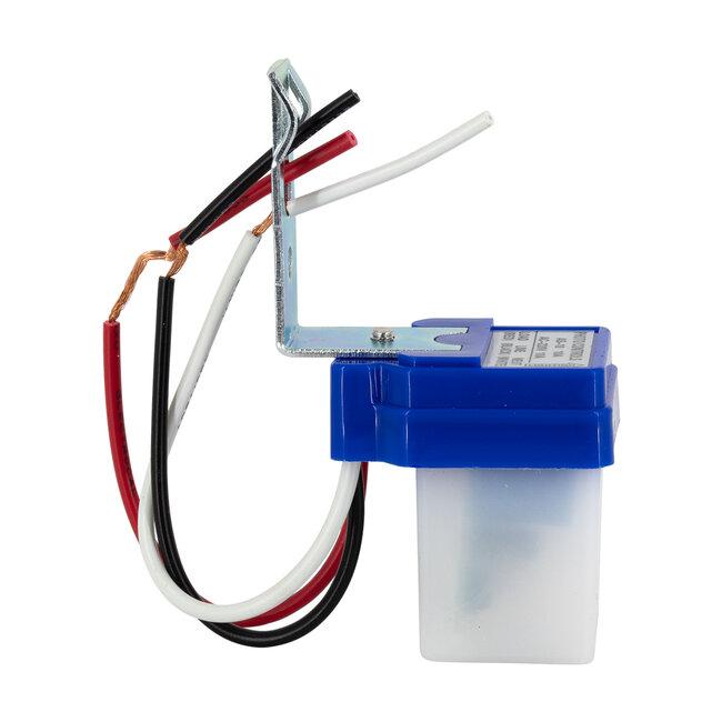 GloboStar® 75702 Αισθητήρας Φωτοκύτταρο Ημέρας-Νύχτας Day-Night Sensor 360° AC 230V Max 2200W - 3