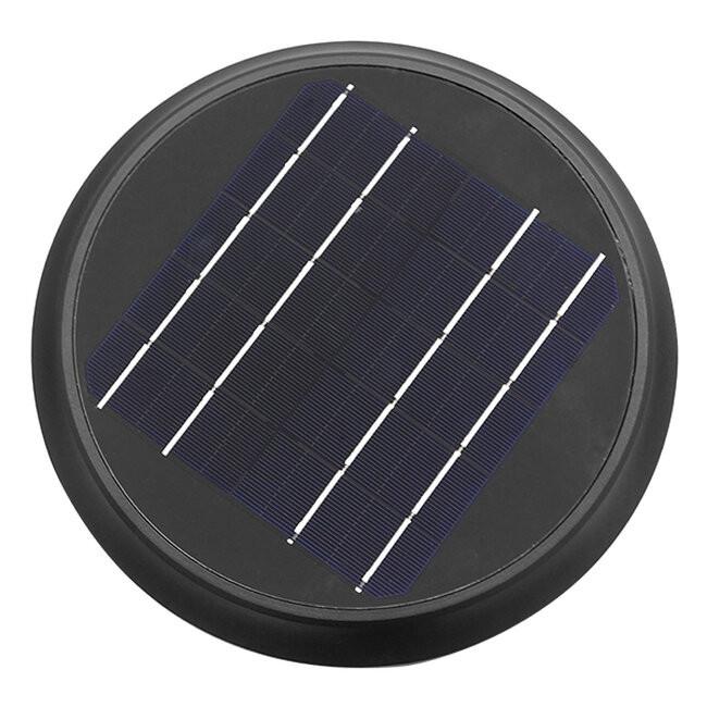 Αυτόνομο Αδιάβροχο IP65 Ηλιακό Φωτοβολταϊκό Φωτιστικό Κολωνάκι Κήπου 60cm LED 10W με Ανιχνευτή Κίνησης και Αισθητήρα Νυχτός Ψυχρό Λευκό 6000k GloboStar 12115 - 7