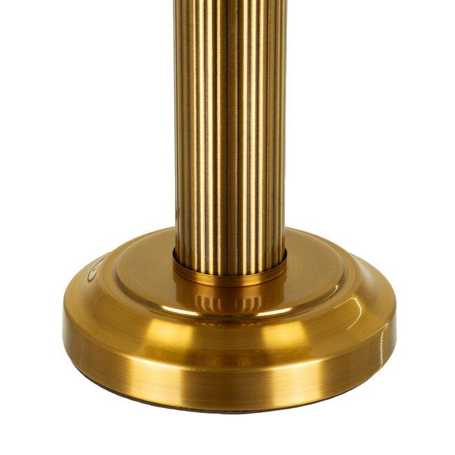 DRAGONFLY TIFFANY 00734 ΣΕΤ 2 Μοντέρνα Επιτραπέζια Φωτιστικά Πορτατίφ Μονόφωτα Μεταλλικά με Γυαλί Πολύχρωμο & Χρυσό Φ27 x Υ44cm Σετ 2 Τεμαχίων - 8