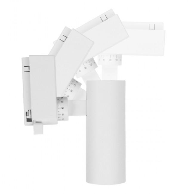 Μονοφασικό Bridgelux COB LED Λευκό Φωτιστικό Σποτ Ράγας 10W 230V 1200lm 30° Θερμό Λευκό 3000k GloboStar 93090 - 7
