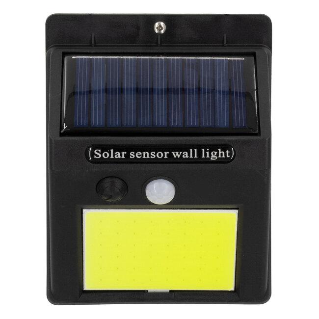 71495 Αυτόνομο Ηλιακό Φωτιστικό LED COB 10W 1000lm με Ενσωματωμένη Μπαταρία 1200mAh - Φωτοβολταϊκό Πάνελ με Αισθητήρα Ημέρας-Νύχτας και PIR Αισθητήρα Κίνησης IP65 Ψυχρό Λευκό 6000K - 5