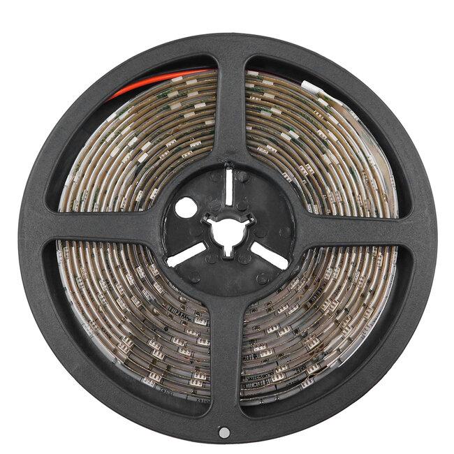 GloboStar® 70112 Ταινία LED SMD 5050 5m 7.2W/m 30LED/m 742 lm/m 120° DC 12V Αδιάβροχη IP65 Θερμό Λευκό 3000K - 5 Χρόνια Εγγύηση - 4