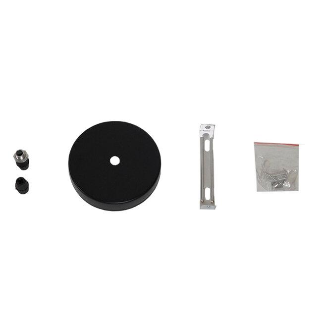 Μοντέρνο Κρεμαστό Φωτιστικό Οροφής Μονόφωτο Μαύρο Μεταλλικό Φ35  SEVILLE BLACK 01269 - 9