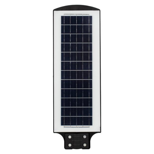 GloboStar® 71553 Αυτόνομο Ηλιακό Φωτιστικό Δρόμου Street Light All In One LED SMD 200W 16000lm με Ενσωματωμένη Μπαταρία Li-ion 12000mAh - Φωτοβολταϊκό Πάνελ με Αισθητήρα Ημέρας-Νύχτας PIR Αισθητήρα Κίνησης και Ασύρματο Χειριστήριο RF 2.4Ghz Αδιάβροχο - 5