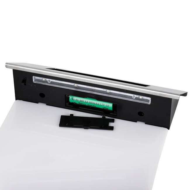 71485 Αυτόνομο Ηλιακό Φωτιστικό LED SMD 1W 100lm με Ενσωματωμένη Μπαταρία 600mAh - Φωτοβολταϊκό Πάνελ με Αισθητήρα Ημέρας-Νύχτας για Αρίθμηση Διεύθυνσης Δρόμου Αδιάβροχο IP65 Ψυχρό Λευκό 6000K - 7