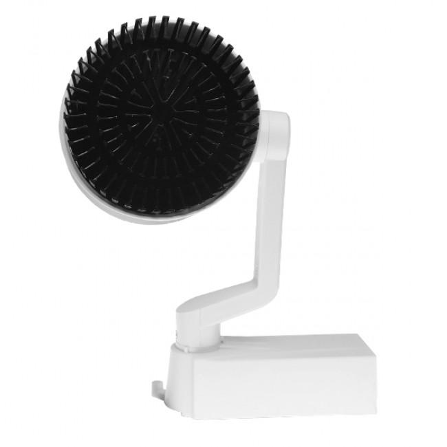 Μονοφασικό Bridgelux COB LED Φωτιστικό Σποτ Ράγας 30W 230V 3300lm 24° Φυσικό Λευκό 4500k GloboStar 93016 - 4