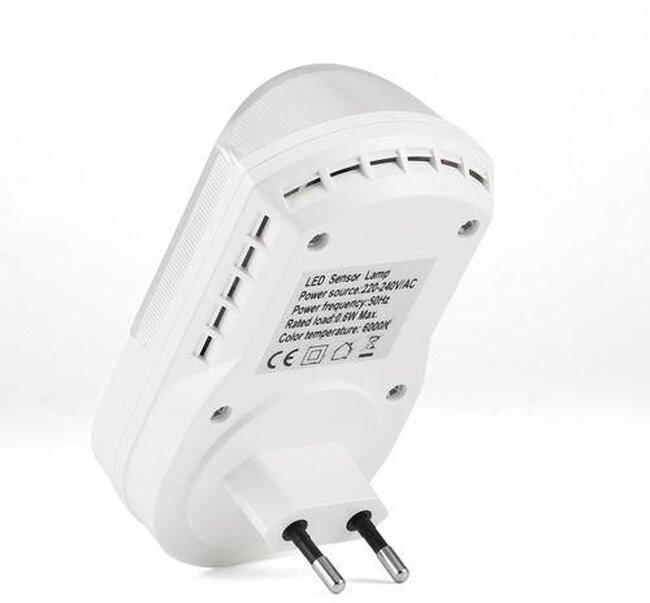 Φωτιστικό Νυκτός Πρίζας LED με Ανιχνευτή Κίνησης  77861 - 4