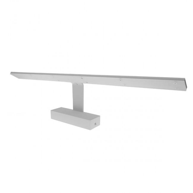 LED Φωτιστικό Τοίχου Αρχιτεκτονικού Φωτισμού 58cm Καθρέπτη / Πίνακα Λευκό IP54 14 Watt SMD Φυσικό Λευκό GloboStar 93334
