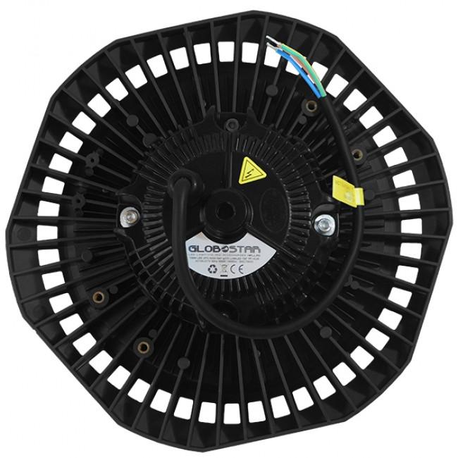 Επαγγελματική Καμπάνα UFO High Bay 100W 230V 14000lm 100° Αδιάβροχη IP66 Ψυχρό Λευκό 5000k GloboStar 78010 - 4