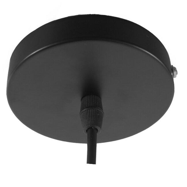 Vintage Κρεμαστό Φωτιστικό Οροφής Μονόφωτο Γυάλινο Καμπάνα Φ30 GloboStar DARCY 01171 - 8