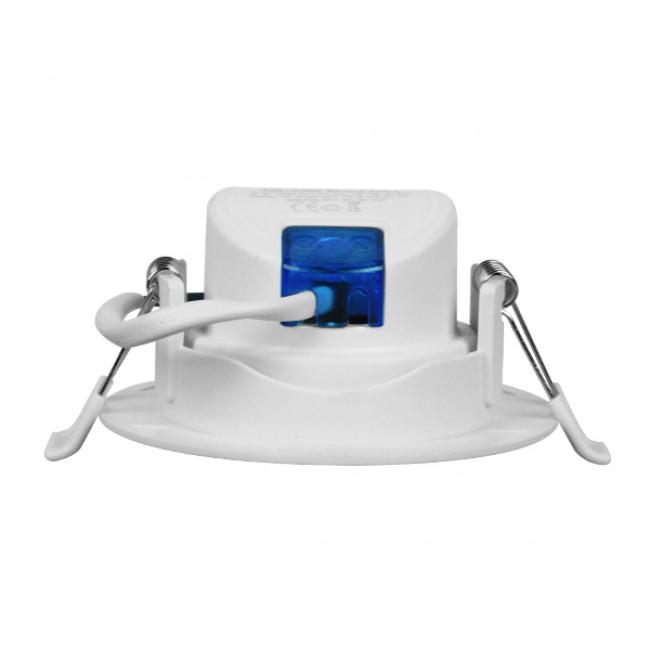 Φωτιστικό LED Spot Οροφής Mini Downlight 5W 230v 450lm 50° με Κινούμενη Βάση Φ9 Θερμό Λευκό 3000k GloboStar 01880 - 3