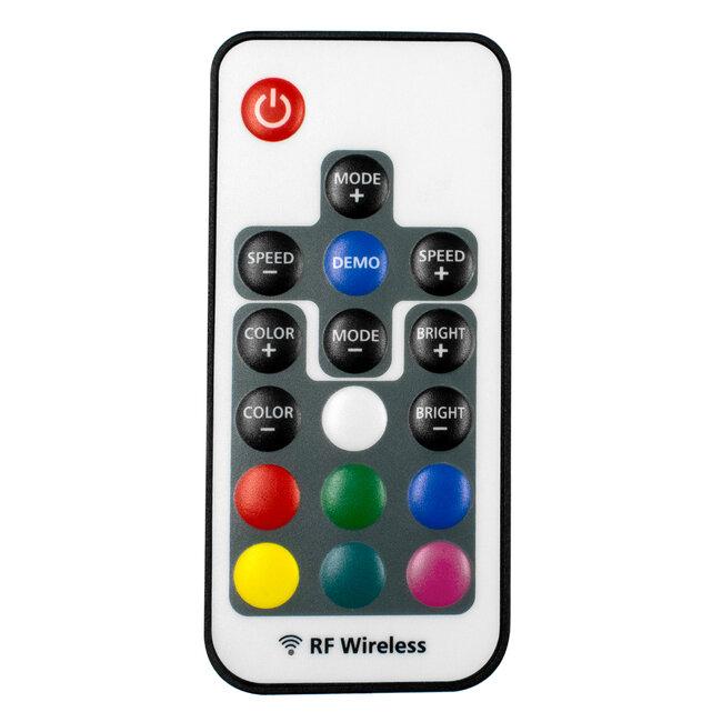 GloboStar® 73420 Ασύρματος LED Controller RGB με Χειριστήριο RF 2.4Ghz DC 5-24V Max 288W - 4