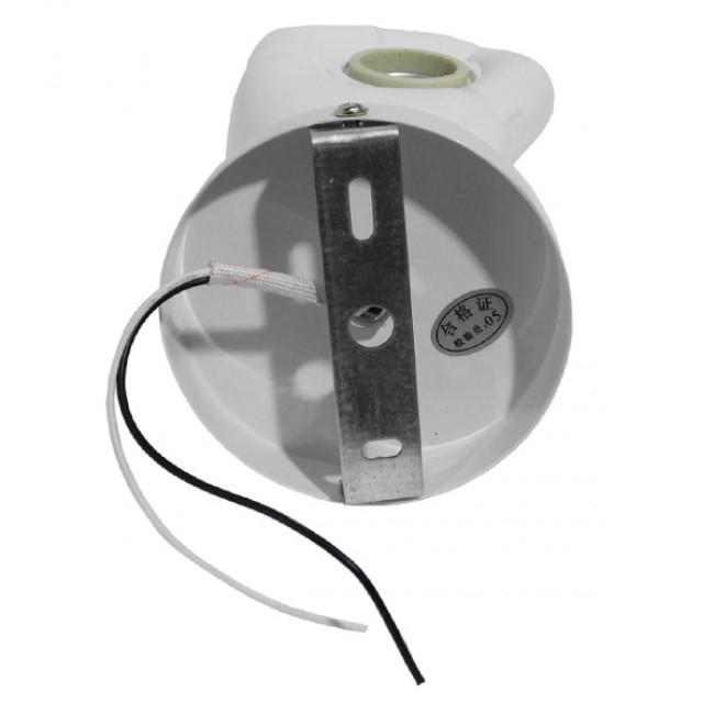 Μοντέρνο Φωτιστικό Τοίχου Απλίκα Μονόφωτο Λευκό Γύψινο  FIST WHITE 01137 - 4